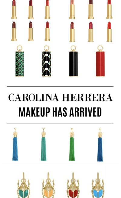Introducing Carolina Herrera Makeup
