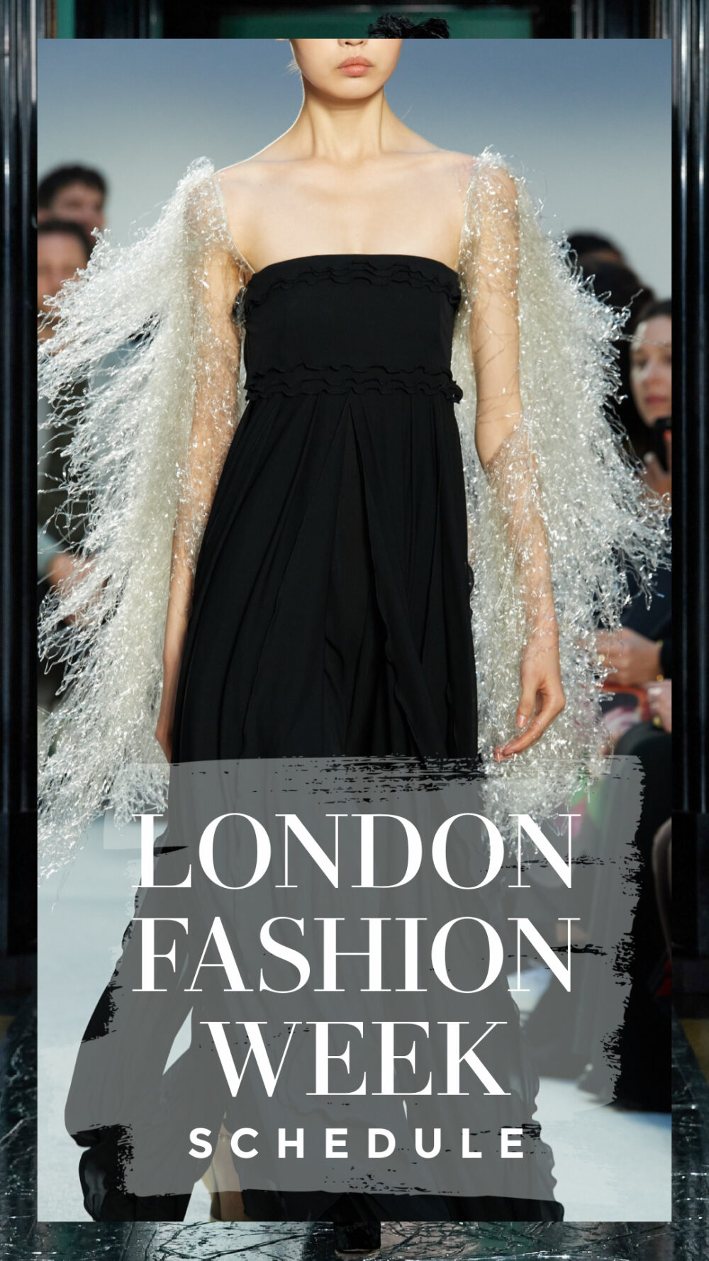 The Official LFW Fall 2020 schedule includes a mix of digital and limited in-person events. I DreaminLace.com #FashionWeek #LondonFashion