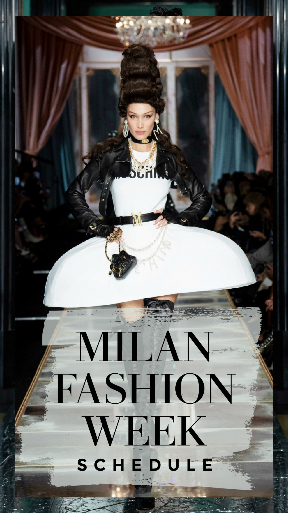 The Official MFW Fall 2021 schedule includes a mix of digital and limited in-person events. I DreaminLace.com #FashionWeek #MilanFashion #LuxuryFashion