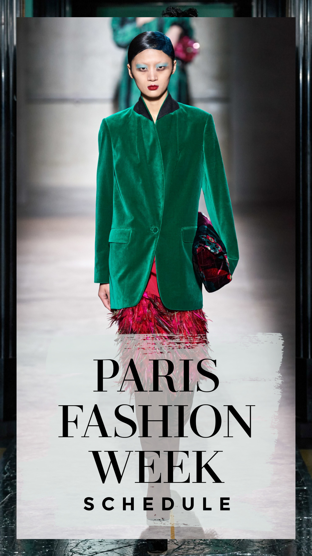 The Official PFW Fall 2021 schedule includes a mix of digital and limited in-person events. I DreaminLace.com #FashionWeek #ParisFashion #LuxuryFashion