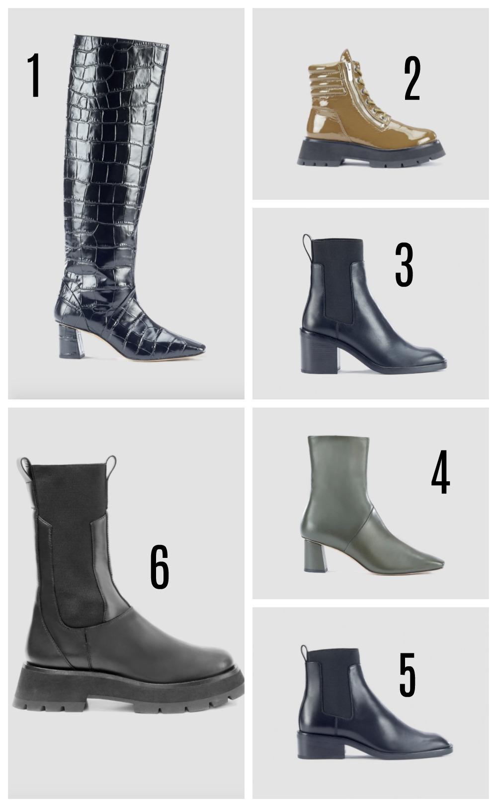 3.1 Phillip Lim Fall 2020 Boots Lineup I DreaminLace.com