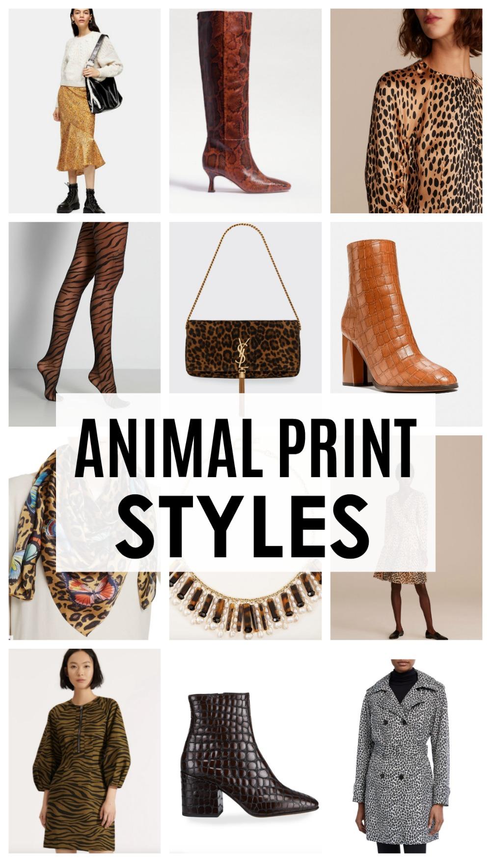 Fall 2020 Animal Print Styles to Rock This Season I DreaminLace.com #FallFashion #Fashionista #WomensFashion #Womenswear #Fashionable