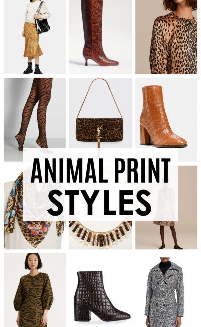 Fall 2020 Animal Print Styles for Living Your Best Tiger Queen Life
