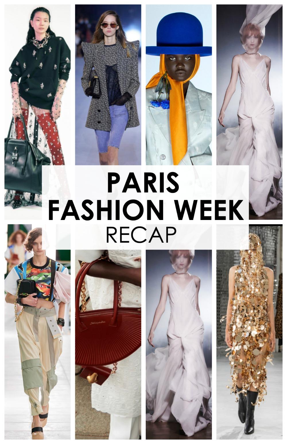 PFW Fall 2020 Recap Episode of the Fashion Forward Friends Podcast #ParisFashionWeek #FashionWeek #Parisfashion #WomensFashion