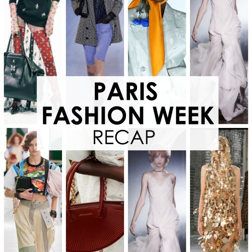 PFW Fall 2020 Recap Episode of the Fashion Forward Friends Podcast #ParisFashionWeek #FashionWeek #Parisfashion #WomensFashion