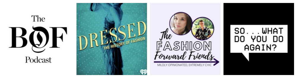 The Best Fashion Podcasts Every Fashionista Should Subscribe To I Dreaminlace.com #fashionblog #podcast