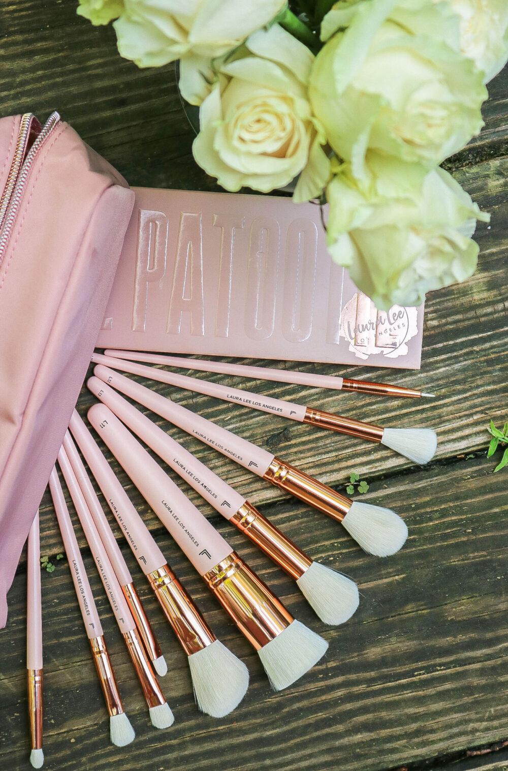 Laura Lee Makeup Brushes Review I DreaminLace.com #BeautyBlog #CrueltyFreeBeauty #MakeupBlog