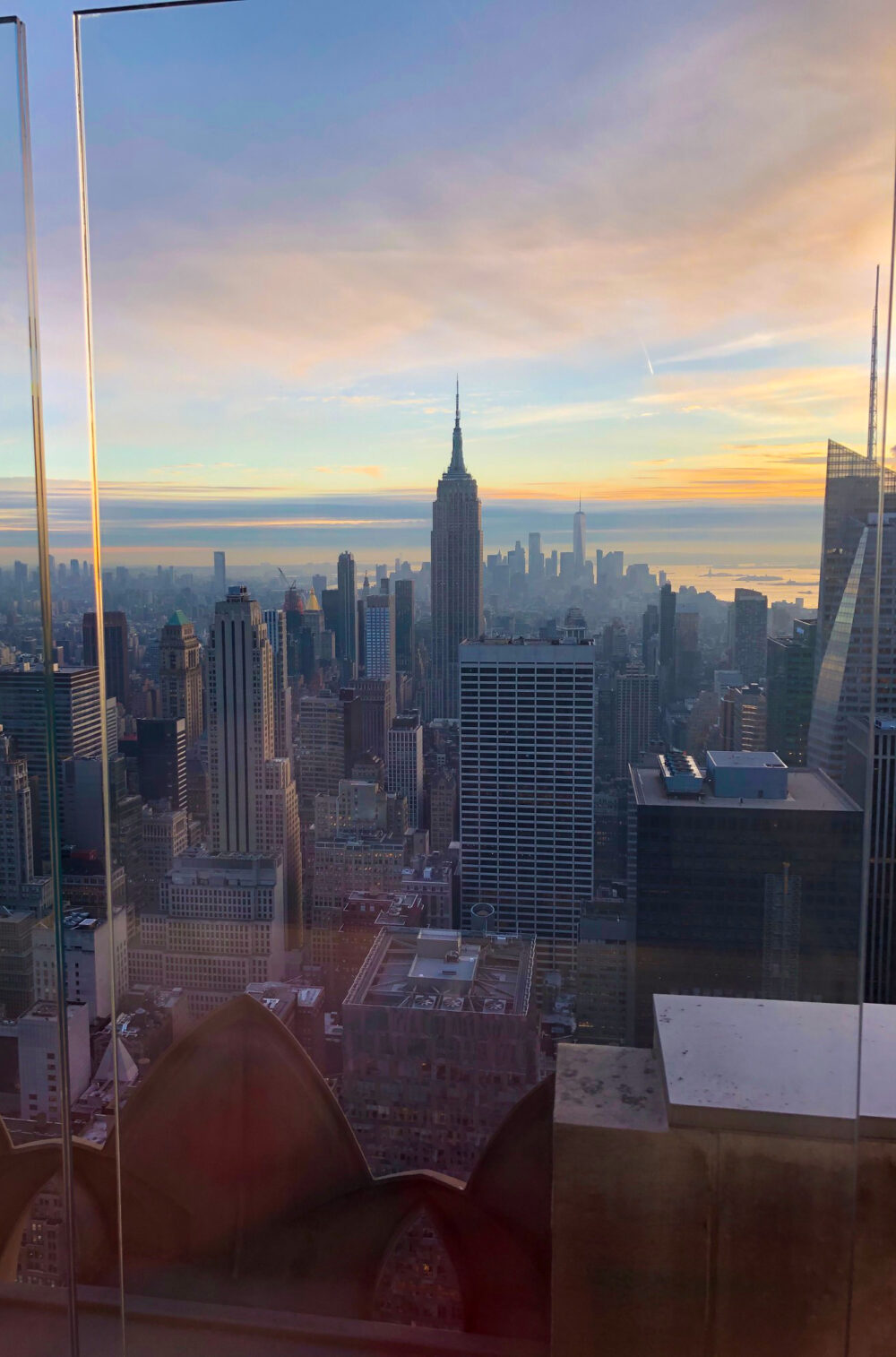 2020 Life Lessons - Sunset Over Manhattan from the Rainbow Room