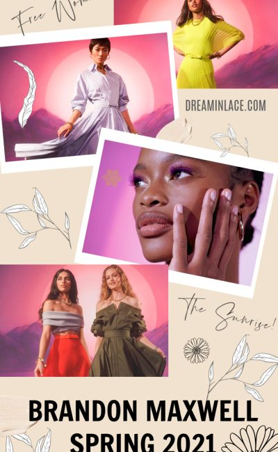 Brandon Maxwell Presents the Full 2020 Experience for His Spring Collection (Pre-Order Now)
