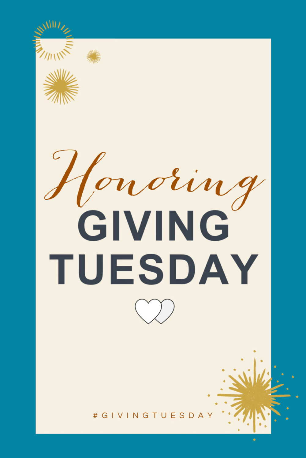 Why Giving Tuesday is Important I DreaminLace.com #GivingTuesday