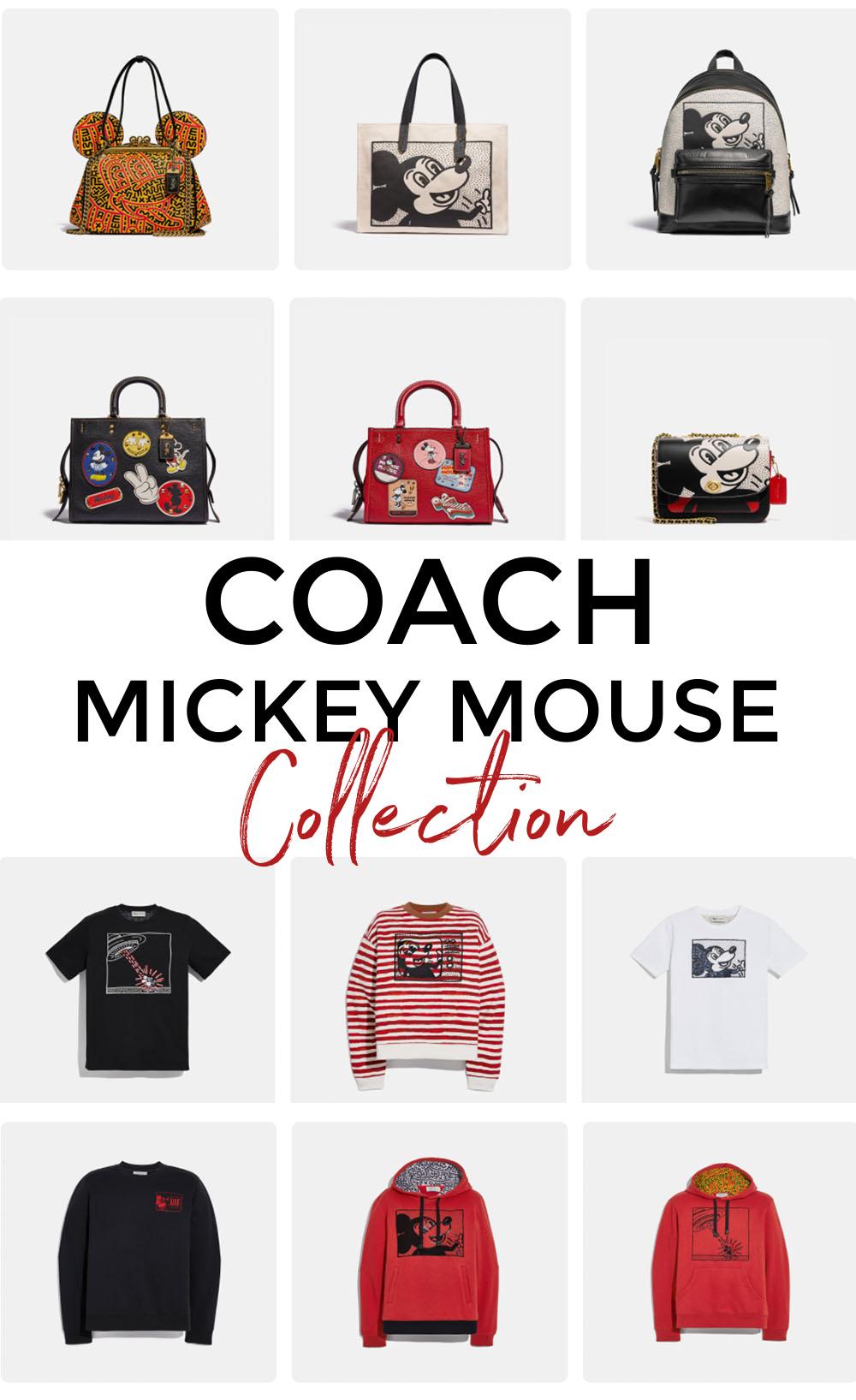 COACH Mickey Mouse Collection on Kaia Gerber I DreaminLace.com #COACH #fashionblog