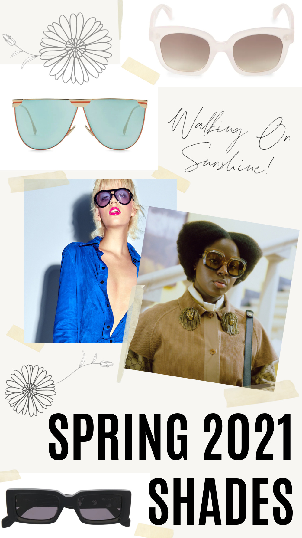 Spring 2021 Sunglasses for Every Budget I DreaminLace.com #springstyle