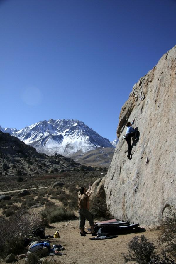 Bishop CA Bouldering