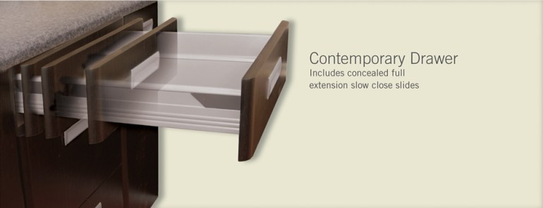 contemporary drawer