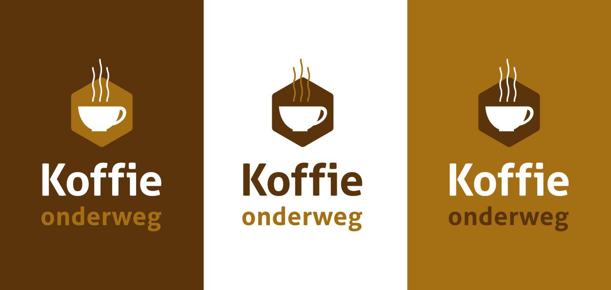 Logo ontwerp voor Koffie Onderweg