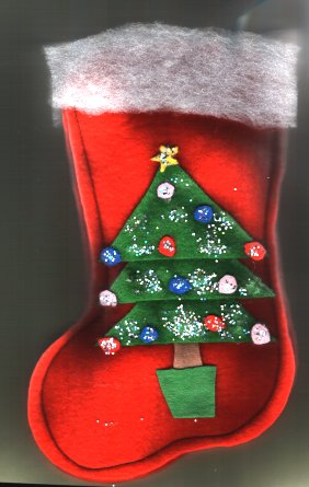 Christmas Stocking Craft free pattern and instructions