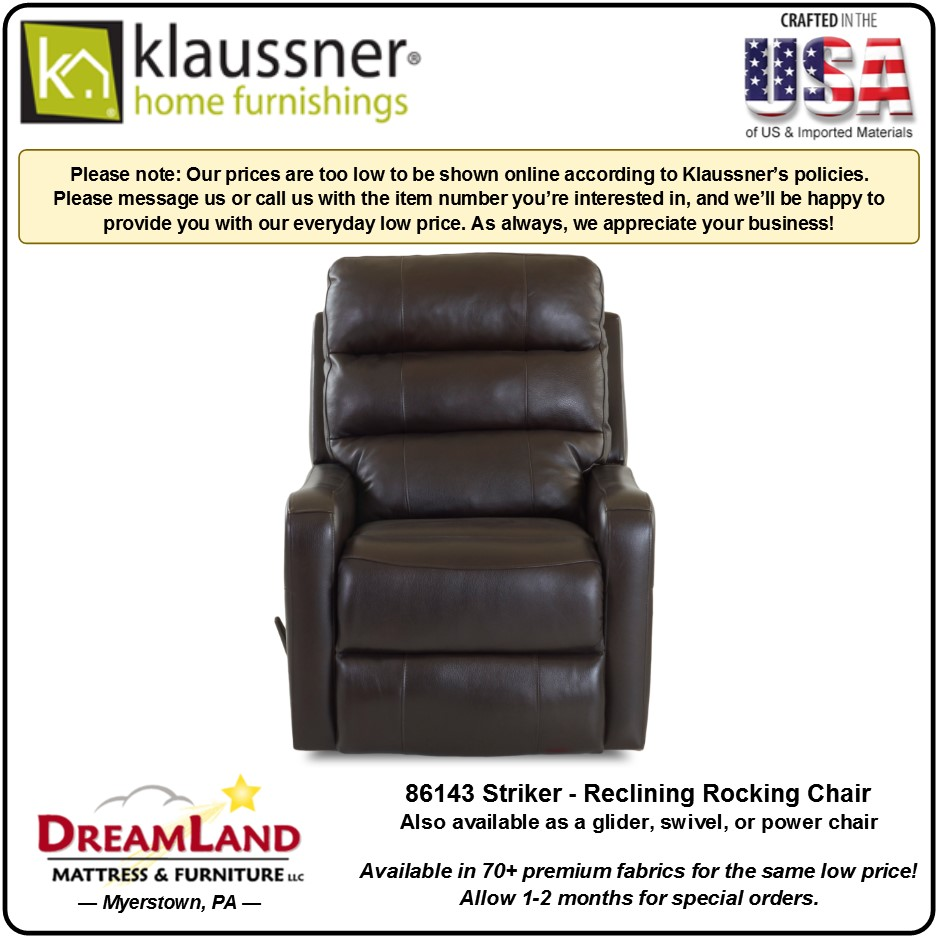 Recliner 86143 Striker