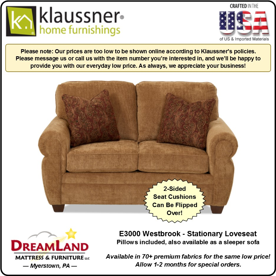Stationary Loveseat E3000 Westbrook
