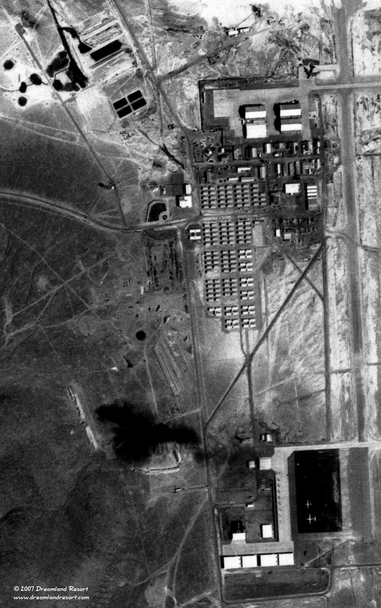 USGS aerial photos of Area 51 taken 8281968