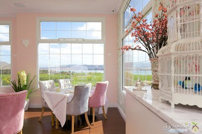 The Decor is Modern with French Window