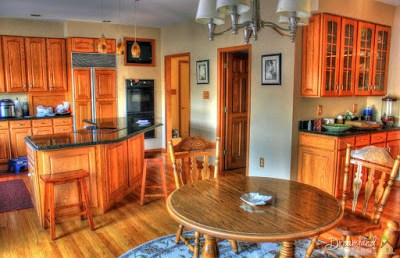 Kitchen Counter Design With Stools
