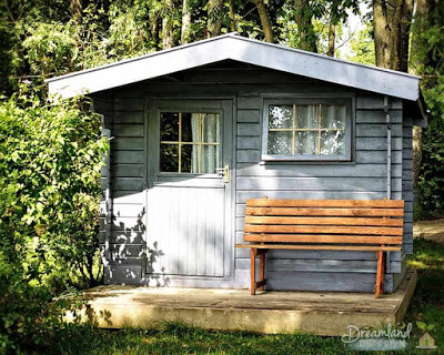 Garden Shed, Cottage, Garden, Leisure, Recovery