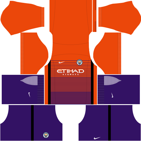 kit manchester city dls17 uniforme alternativo