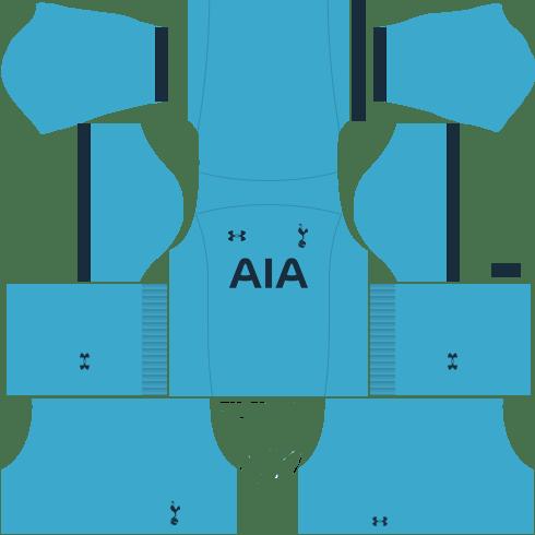 kit tottenham DLS 20 uniforme goleiro casa