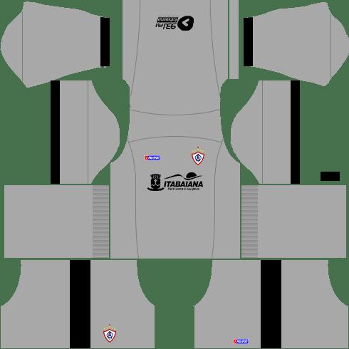 kit itabaiana dls17 uniforme goleiro casa