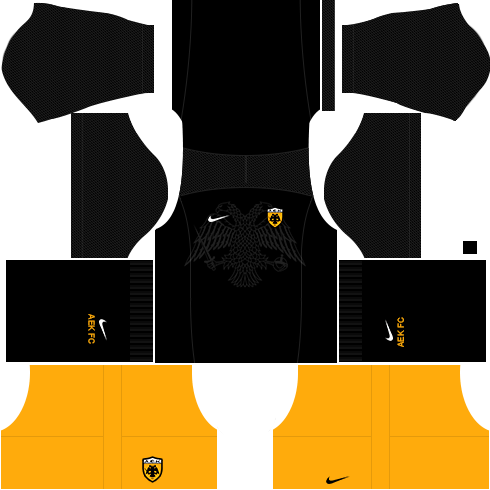 Kit AEK dls17 third - terceiro uniforme 17-18