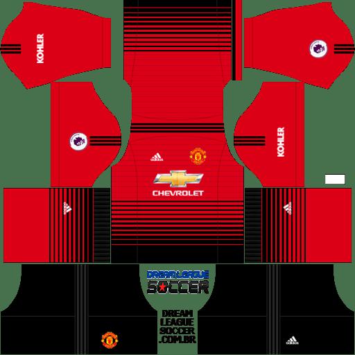 Kit-Manchester-United-dls-home-uniforme-casa18-19