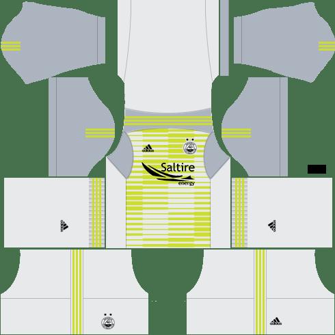 Kit aberdeen dls home Gk uniforme goleiro casa-18-19