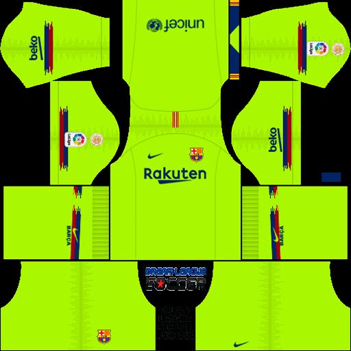 Dls 19 Barcelona Kit Url | kit barcelona 2018 2019 league soccer