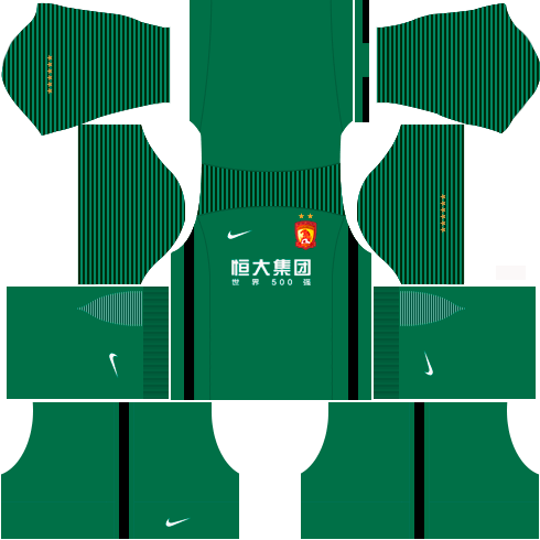 Kit-guangzhou-dls-home-Gk-uniforme-goleiro-casa-17-18