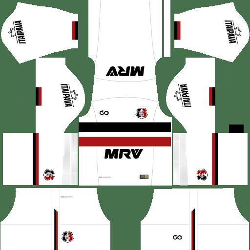 Kit-santa-cruz-DLS 20-uniforme-fora-de-casa-17-18