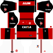 Kit Flamengo 2018 para DLS 20 - Dream League Soccer