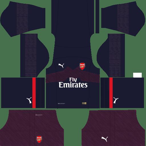 kit-Arsenal-dls-away---uniforme-fora-de-casa-18-19