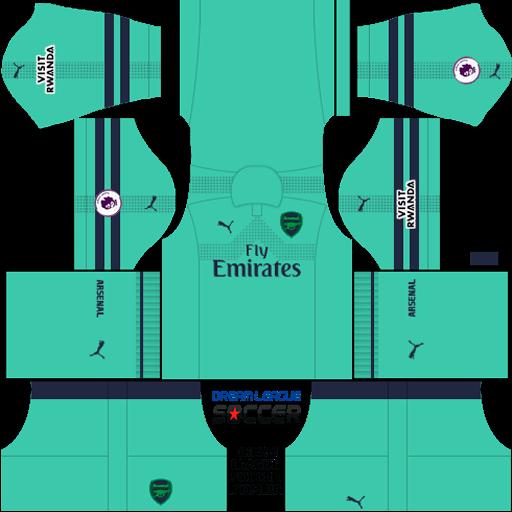Dream League Soccer Kits Arsenal 2018 – Galleria Immagini