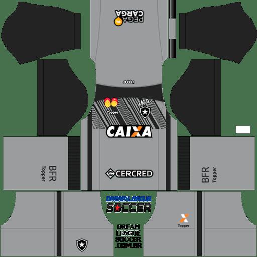 kit-Botafogo-dls-away-Gk-uniforme-goleiro-fora-de-casa-18-19