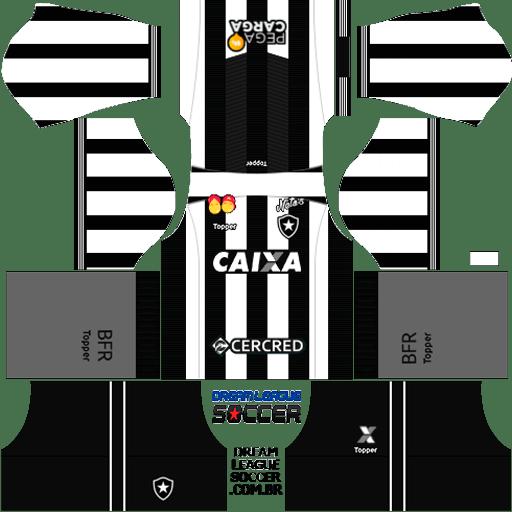 kit-Botafogo-dls-home-uniforme-casa-18-19