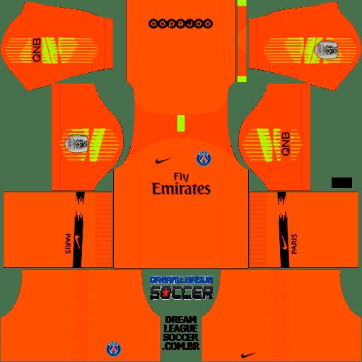 kit-PSG-dls18-away-Gk-uniforme-goleiro-fora-de-casa-18-19