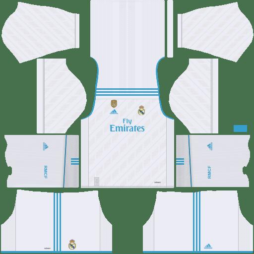 kit Real Madrid dls17 home - uniforme casa