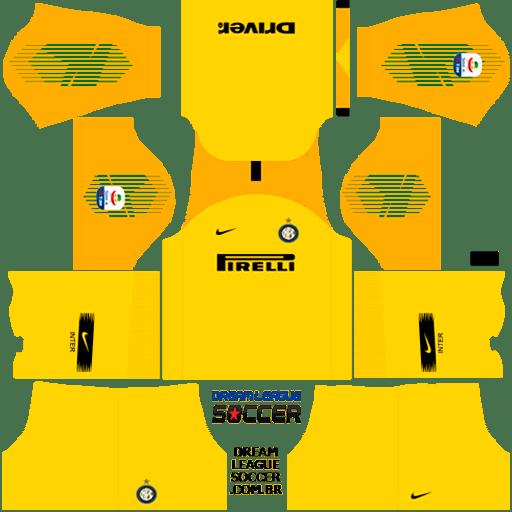 kit-inter-de-milão-Internazionale-Milano-dls-home-Gk-uniforme-goleiro-casa-18-19