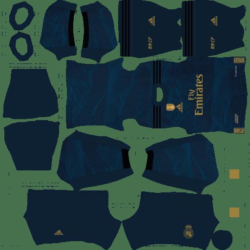 kit-real-madrid-dls20-away-uniforme-fora-de-casa-19-20