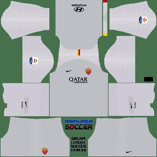 kit-roma-dls-away-uniforme-fora-de-casa-18-19