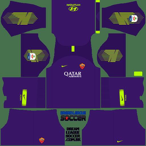 kit-roma-dls-third-Gk-terceiro-uniforme-goleiro-18-19