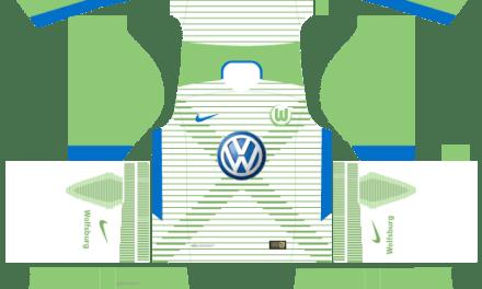 Kit Wolfsburg 2018 Novo Uniforme para DLS 20 – Dream League Soccer