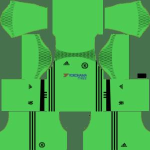 Chelsea Goalkeeper Kits DLS 2018