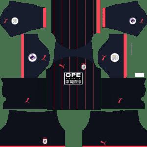 Huddersfield Away Kits DLS 2018