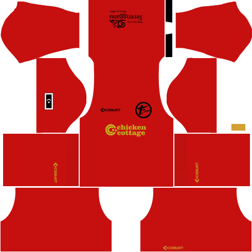 T-Team Kits Goalkeeper Home DLS 2018